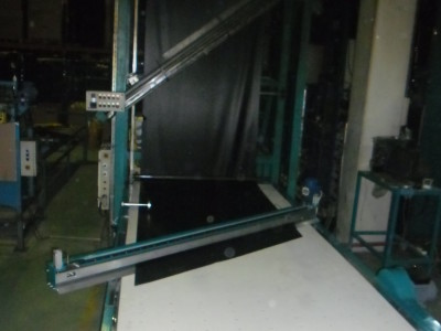 özel tasarım açılı kaucuk kesme makinesi